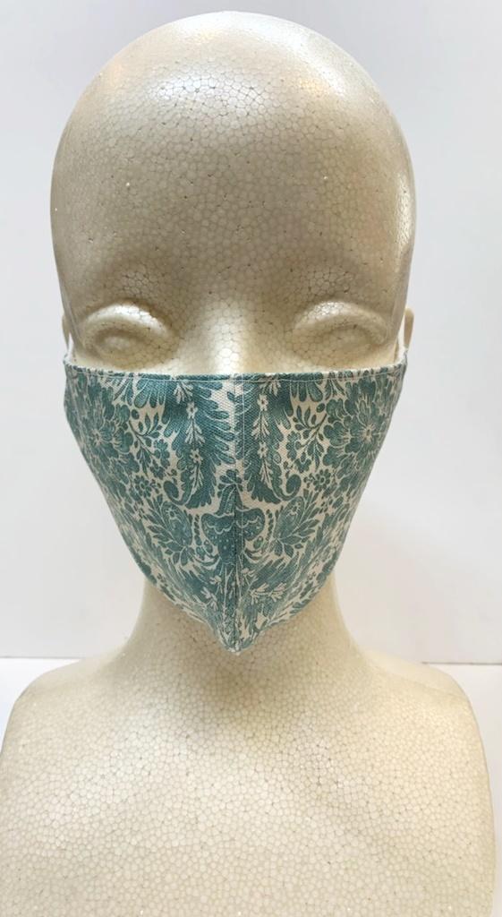 リバティ柄 マスク