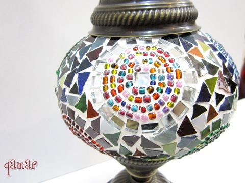 トルコ モザイクランプ MIX
