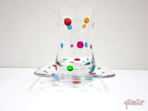 スクエアドット チャイグラス