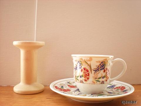 トルココーヒーカップ&ソーサー