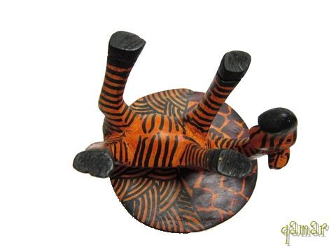 木彫り アニマル灰皿