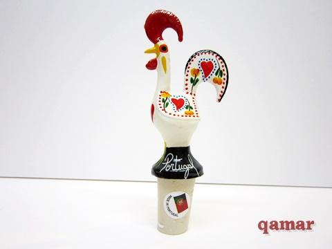 バルセロス の ニワトリ ボトルストッパー