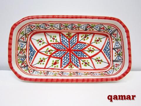 チュニジア 角ボウル皿